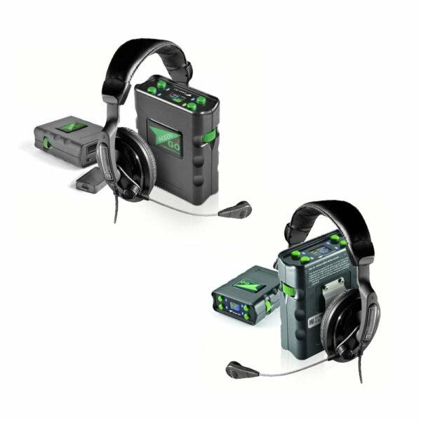 set 2x green go intercom systeem 100511