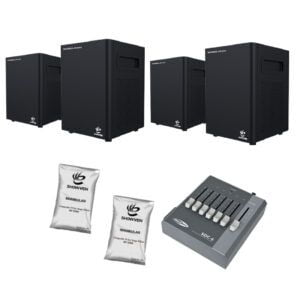 Set: 4x Showven Sparkular mini | Incl sturing & poeder