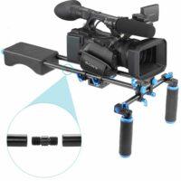 Set: Full HD Camera met schouder rig huren
