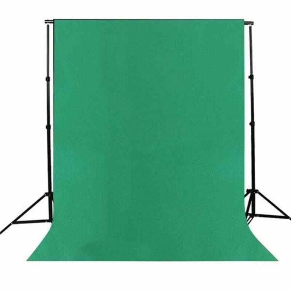 Set: Greenscreen doek met p&d materialen 5,90 meter