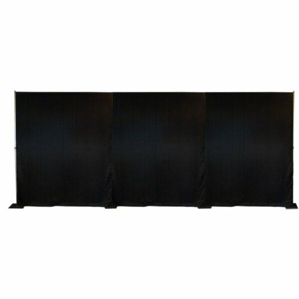 Set: P&D zwart 9m strak huren