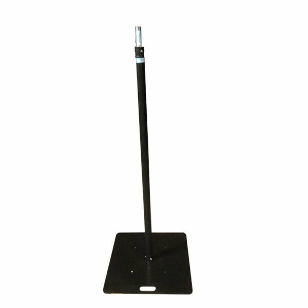 Set: Single pipe statief 2 meter