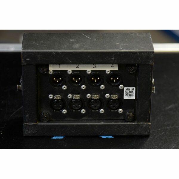 Stagebox MINI 4x XLR in / 4x XLR out (UTP)