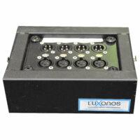 Stagebox MINI 4x XLR in / 4x XLR out (UTP) huren