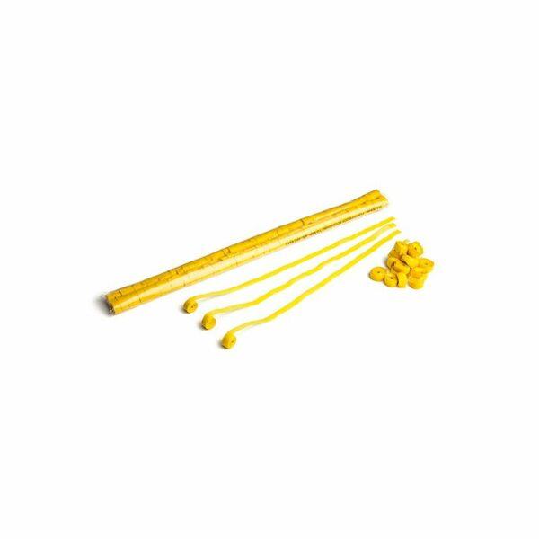 Streamer geel papier 5m x 85mm kopen