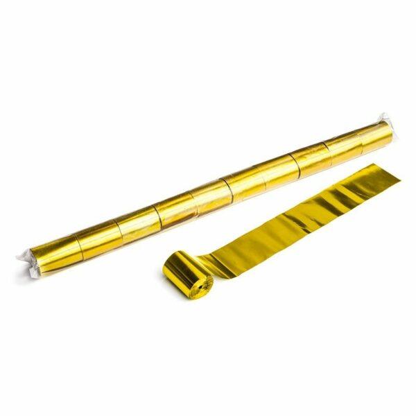 Streamer goud metallic 20m x 50mm kopen