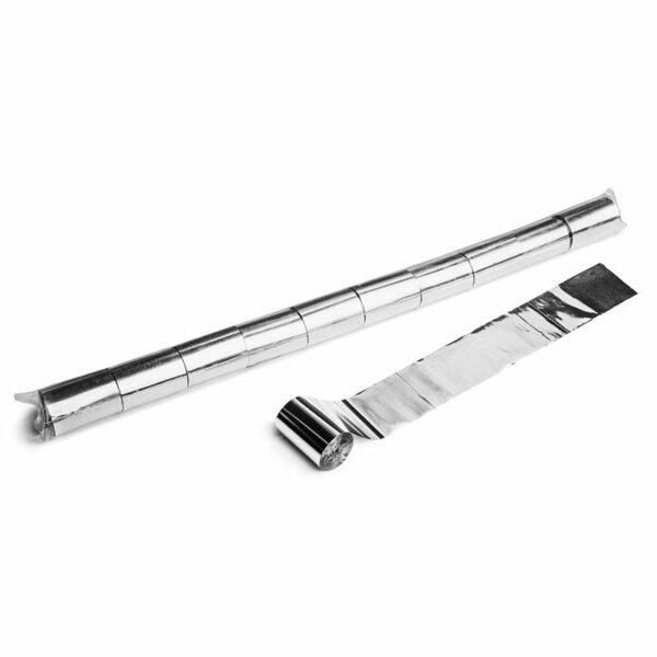 Streamer zilver metallic 20m x 50mm