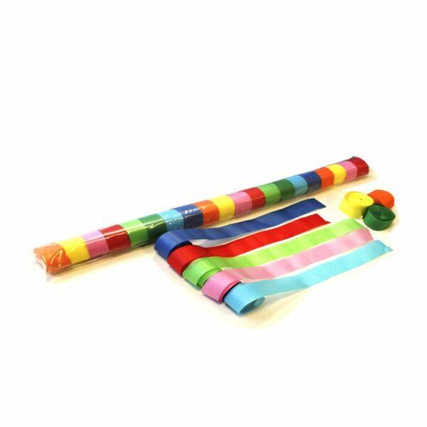 Streamers multicolors papier 20m x 25mm