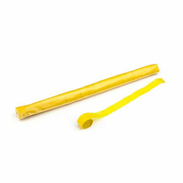 Streamer geel papier kopen