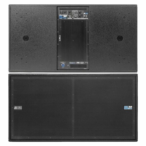 Subwoofer 2x 18 dB Technologies DVA S30N