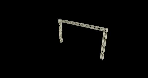 Trussgoal 6x3m (LxH) buitenmaten