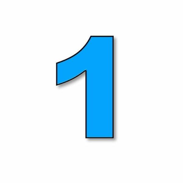 Verlichte cijfer: 1