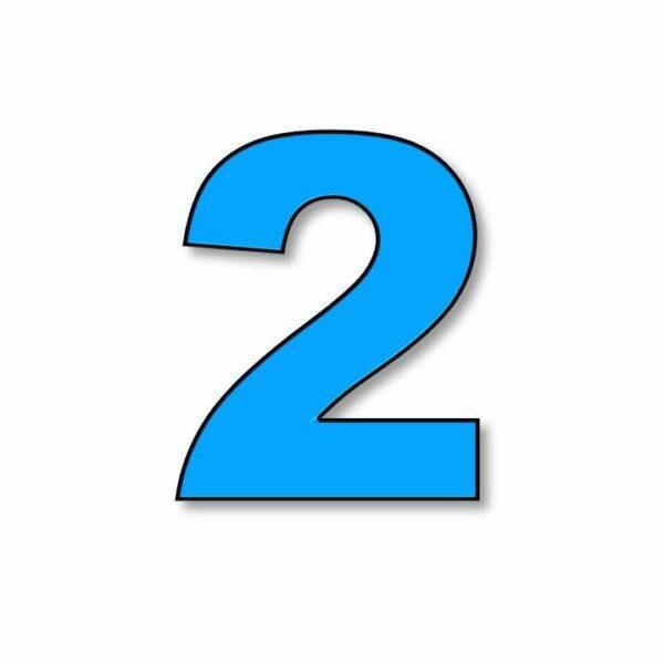 Verlichte cijfer: 2