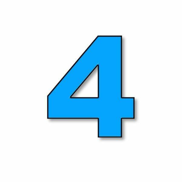 Verlichte cijfer: 4