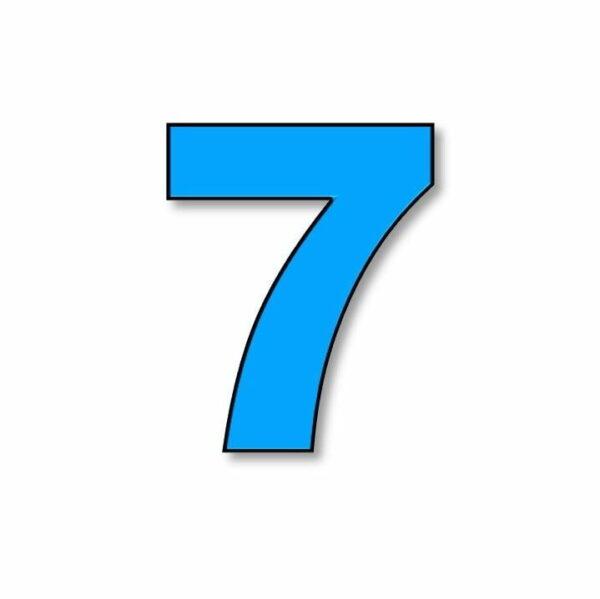 Verlichte cijfer: 7