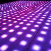 Verlichte dansvloer 3x3m huren