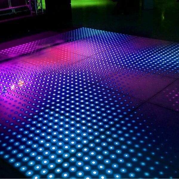 Verlichte dansvloer 5x5m