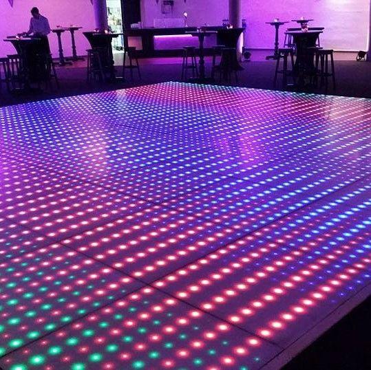 Verlichte dansvloer 8x6m huren
