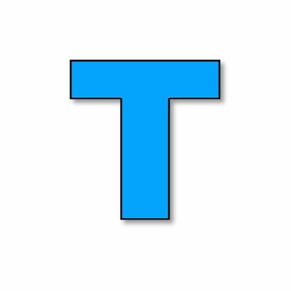 Verlichte letter: T huren