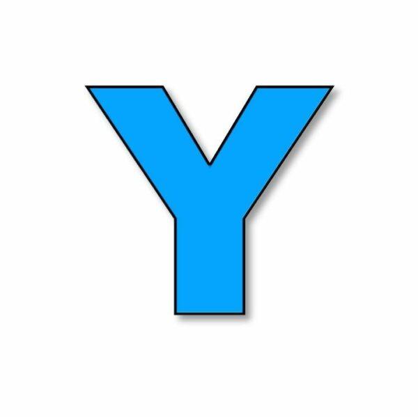 Verlichte letter: Y
