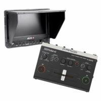 Videomixer Roland V-2HD (incl. 7″ Monitor en tripod) huren