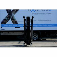 Wind-up statief truss/line-array  K-50  5.95m 300kg Kuzar huren
