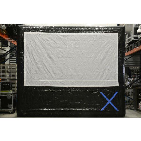 X-screen (opblaasbaar projectscherm) 3x1,70m