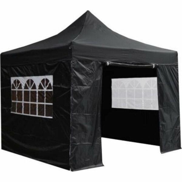 Zijkant met deur voor easy up tent 3x3m huren