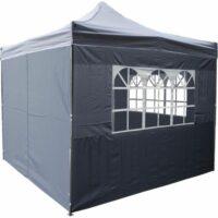Zijkant met raam voor easy up tent 3x3m huren
